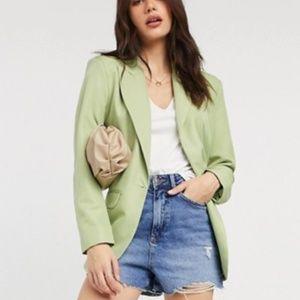 ASOS DESIGN perfect blazer in green